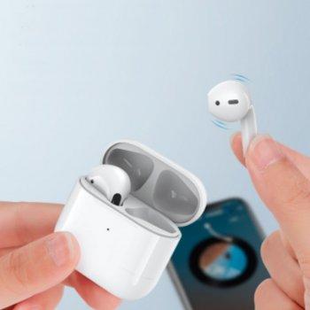 Беспроводные Bluetooth наушники REMAX Ture Wireless Stereo Music Earbuds TWS-10 |30mAh/250mAh, 3h| White (TWS-10R)