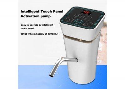 Помпа для води EL-1151 автоматична портативна з акумулятором на 1200 маг Біла (12021)