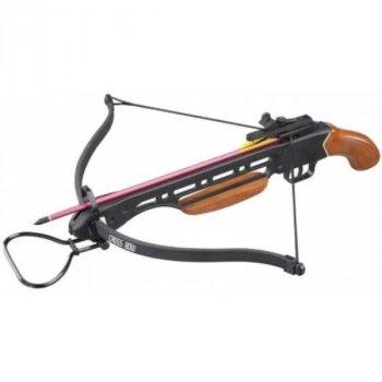 Арбалет Man Kung MK-150A1H, Рекурсивный, пистолетного типа, деревянная рукоять ц:коричневый
