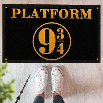 Коврик придверный с принтом Presentville Платформа 9 3/4 Гарри Поттер 45x75 см