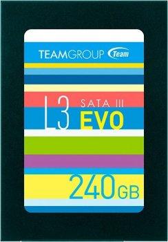 """Team L3 EVO 240GB 2.5"""" SATAIII TLC (T253LE240GTC101)"""