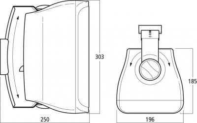 Акустична система WALL-06T/SW