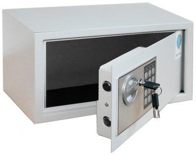 Сейф мебельный SteelNet SN-МС-18Е-7035