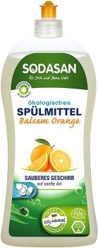 Органический бальзам-концентрат для мытья посуды Sodasan Апельсин 1 л (4019886025577)