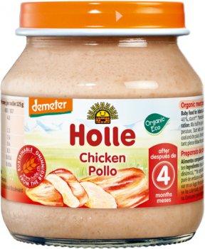 Пюре Holle органічне Курка з 4 місяців 125 г (32843)