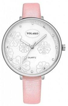 Женские наручные часы Yolako steel flower 7754862-4 (4122)