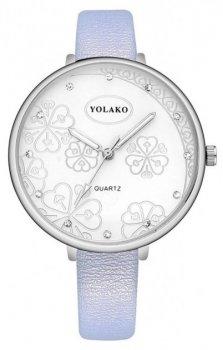 Женские наручные часы Yolako steel flower 7754862-7 (4125)