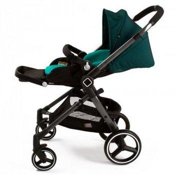 Коляска дитяча прогулянкова Evenflo® Vesse LC839A-W8BG універсальна зелена (2477)