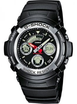 Годинник CASIO AW-590-1AER G-SHOCK 46mm 20ATM