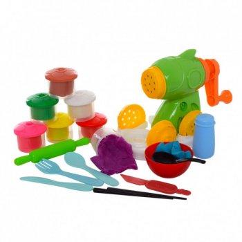 Набор для творчества и лепки Чудо Пластилин MK 2847 Мясорубка Лапша 8 цветов (АС112023)