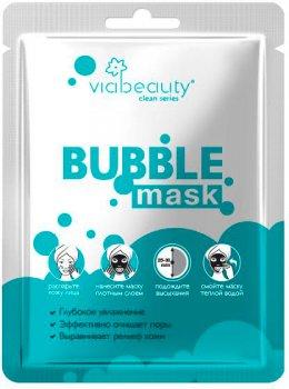 Маска Via Beauty Очищающая Bubble Mask с гиалуроновой кислотой 10 мл (6942560630249 / 6971663406215)