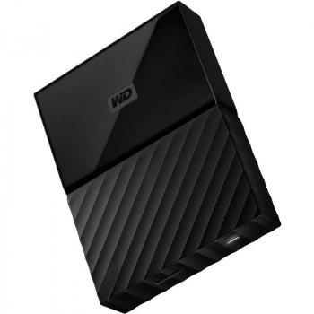 """Зовнішній жорсткий диск HDD 2.5"""" USB 1Tb WD My Passport Black (WDBYNN0010BBK-WESN)"""