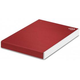 """Зовнішній жорсткий диск HDD 2.5"""" USB 1Tb Seagate Backup Plus Slim Red (STHN1000403)"""