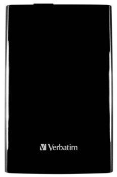 """Зовнішній жорсткий диск HDD 2.5"""" USB 3.0 1Tb Verbatim Store n Go Black (53023)"""