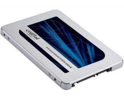 """Твердотільний диск SSD 2.5"""" 500GB Crucial MX500 SATA 3, 3D TLC (CT500MX500SSD1)"""