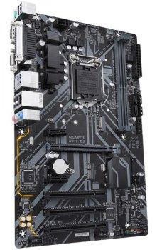 Мат. плата MB GigaByte H310 D3 (Socket 1151, Intel H310, 3 x PCI, 2 x PCI-Ex 2.0 x1, 1 x PCI-Ex 3.0 x16, DDR4, 1 x M. 2, 4 x Sata 6.0 Gb/s, 1 х USB 2.0, 1 x USB 3.1, ATX)