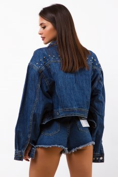 Куртка джинсова Remix 10303 Синя