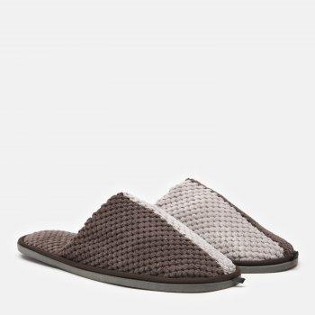 Комнатные тапочки FX shoes Дорис 18002 Серо-коричневые