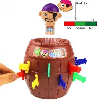Настільна гра UFT Pirates Barrels Пірат у бочці (PiratesBar) (4820176250001)