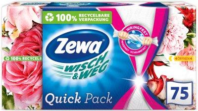 Упаковка паперових рушників Zewa Wisch&Weg Home collection 10 шт. 2 шари по 75 аркушів (7322541017600)