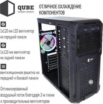 Корпус QUBE QB27A Black (QB27A_WCNU3)