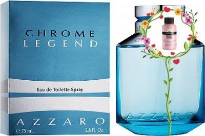 Мужская парфюмерия Туалетная вода Azzaro Chrome Legend man edt 125ml (7775562226962)
