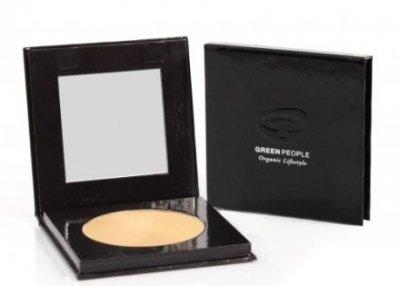 Пудра Компактная пудра для лица Green People Pressed Mineral Powder SPF15 Caramel Light (5034511005723)