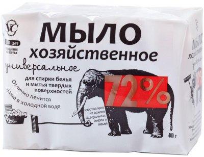 Мыло хозяйственное Невская косметика универсальное 72% 100 г х 4 шт (4600697111421)