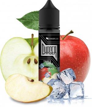 Рідина для електронних сигарет Chaser Triple Apple Ice (Три сорти яблук + лід)