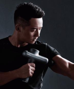 Массажный пистолет Yunmai терапевтический перкуссионный Черный (303-1)