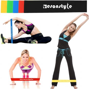 Резинки для фитнеса Esonstyle Набор из 5 штук (2000992399364)