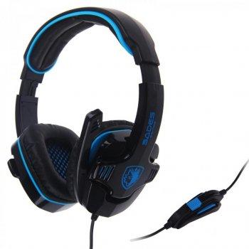 Навушники SADES Gpower Black/Blue (SA708-B-BL)