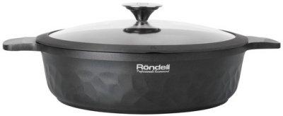 Сотейник Rondell ArtDeco с крышкой 28 см (RDA-1255)