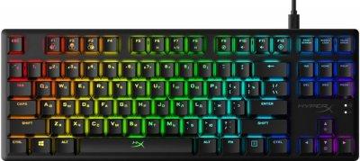 ХІТ-комплект HyperX клавіатура Alloy Origins Core HX-KB7RDX-RU + поверхню Fury S - XL HX-MPFS-S-XL