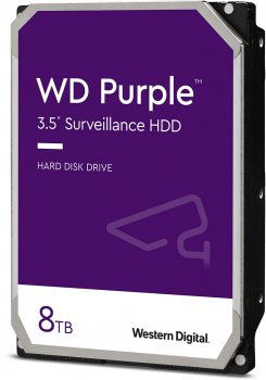 Жорсткий диск Western Digital Purple 8TB 5640rpm 128MB WD84PURZ 3.5 SATA III
