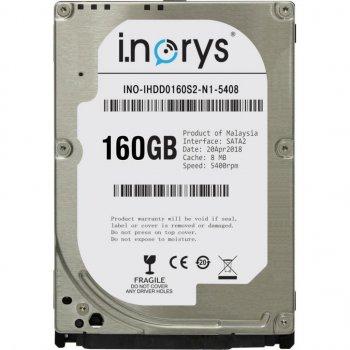 "Жорстку диск для ноутбука 2.5"" 160GB i.norys (INO-IHDD0160S2-N1-5408)"