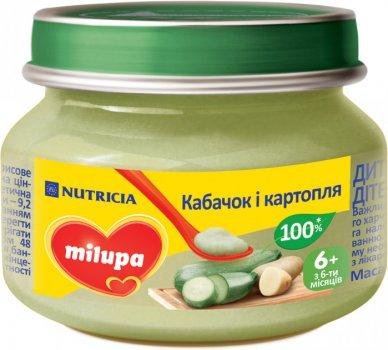 Овочеве пюре Milupa кабачок і картопля 80 г (0222н)
