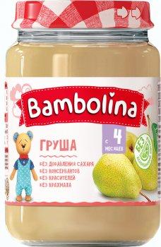 Пюре Bambolina Груша 190 г