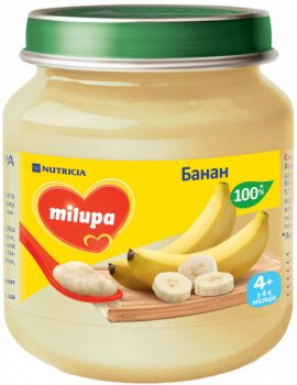 Пюре Milupa Банан 125 г (3799)