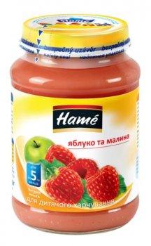 Фруктове пюре Hame яблуко і малина 190 г (23600121760101)