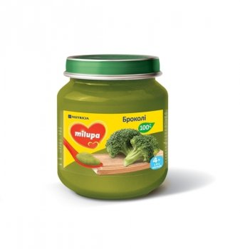 Овочеве пюре Milupa 125 г Броколі (0239)
