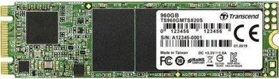 Твердотільний диск SSD M. 2 960GB Transcend MTS820S SATAIII 3D TLC (TS960GMTS820S)