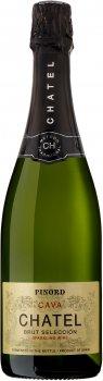 Вино игристое Chatel Cava Brut Reserva белое сухое 0.75 л 11.5% (8410631880025)