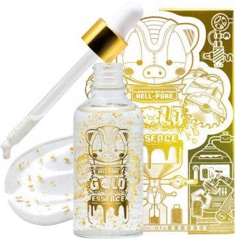 Эссенция для лица Elizavecca Milky Piggy Hell-Pore Gold Essence с частицами 24к золота 50 мл (8809624500086)
