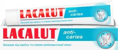 Зубная паста Lacalut Anti-caries 75 мл (4016369694534)