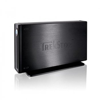 "Накопичувач зовнішній HDD 3.5"" USB 750GB TrekStor DataStation maxi g.u Black (TS35-750MGUXB) - Refubrished"