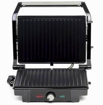 Гриль c терморегулятором притискної Електрогриль Rainberg RB-5403 2500W Black (SBN43672)