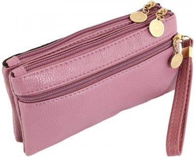 Бумажник Traum 7202-73 Светло-фиолетовый (4820007202735)