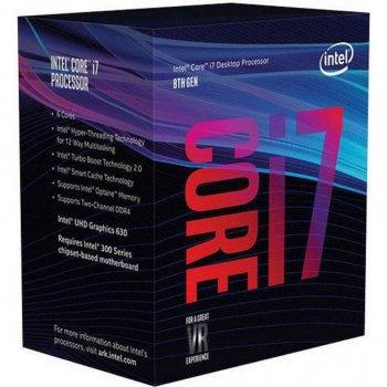 Процесор INTEL Core™ i7 8700 (BX80684I78700)