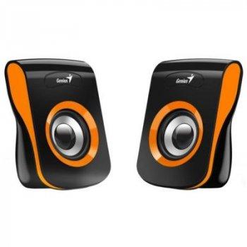 Акустична система 2.0 Genius SP-Q180 Orange (31730026402)
